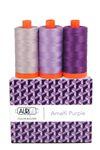 Aurifil Color Builder - Amalfi Purple