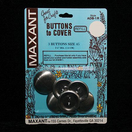 Buttons Refill to Cover Size 45  1 1/8