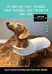 The Dandy Doo Dog Jacket Pattern for Small Dogs