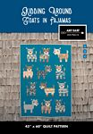 Kidding Around - Goats in Pajamas Quilt Pattern - 43 x 60