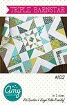 Triple Barnstar Quilt Pattern
