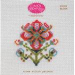Showy Bloom Cross Stitch