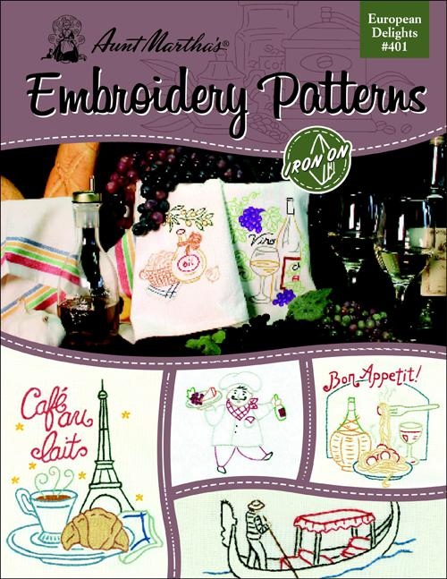 Embroidery Ptns European Delig