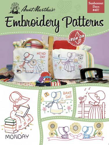 Embroidery Patterns Sunbonnet Days