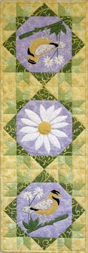 Meadowlark Table Runner - Pattern