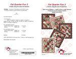 Pt - Fat Quarter Fun 3 Patterns