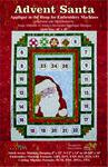 Advent Santa Machine Embroidery Designs