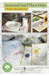 Seasonal Swirl Placemats - Amelie Scott Designs by Christine Conner   ASD224