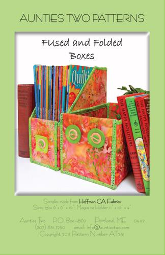 FUSSED AND FOLDED BOXES PATTERN