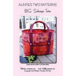 Aunties Two Pattern Big Sebago Tote