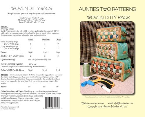 Woven Ditty Bags