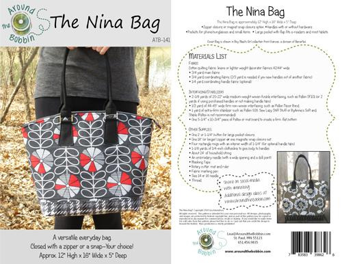 The Nina Bag by Around the Bobbin ATB-11+