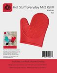 Hot Stuff Everyday Silicone Mitt Refill Red