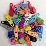 Candy Color Zipper Pulls Assorted