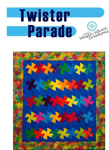 Twister Parade Quilt Pattern