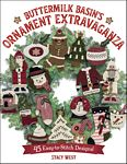 Buttermilk Basin's Ornament Extravaganza Book by Stacy West