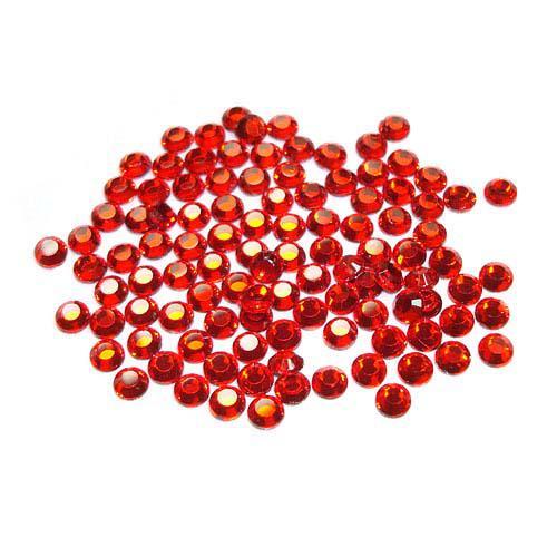 Hot Fix Crystals Red 3mm