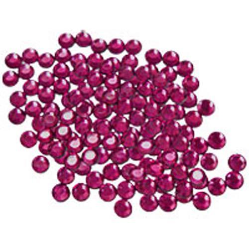 Hot Fix Crystals - Ruby 3mm Hot Fix Crystals 288 (3mm) - Ruby