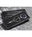 Klasse Black Embroidery Scissors and Tape Measure Set