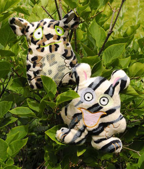 Minkee Monsters Unleashed! Fabric Kit