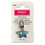 Bohin Decorative Charms Blue Butterfly