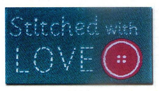 Lovelabels:Stitched with Love