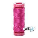 Aurifil Mako Cotton 12wt 55yd Thread Fuchsia