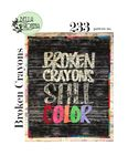 Broken Crayons Pattern