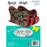 Winter Sleigh Double Sided Fusible