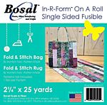 Bosal In-R-Form Single Sided Fusible strips