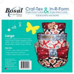 Buckets and Bows-Large - Fusible In-R-Form