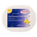 Oval Placemat Craft Pack