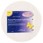 Craf tex Placemat Craft Pack Round