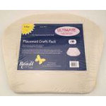Double Sided Fusible Placemat Craft Pack - 4pk