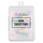 Bow Tie Short Pins - 5.5cm - 100 ct Box