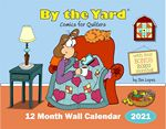 By the Yard  Wall Calendar for Quilters 2021