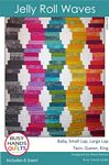 Jelly Roll Waves quilt pattern