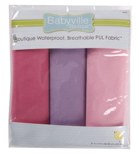 Babyville Boutique Waterproof PUL Fabric