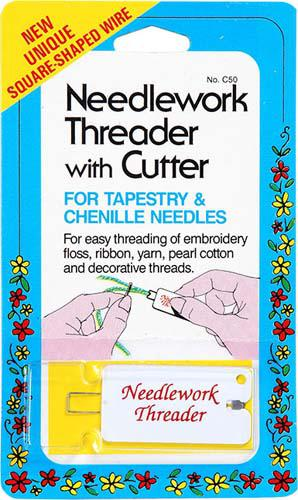 Needlework Threadr with Cutter Needlework Threader with Cutter