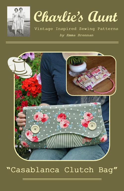 Clutch Bag - Casablanca Purse Pattern