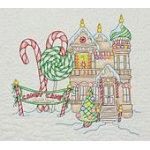 Candy Cane Quilt Shop Pattern