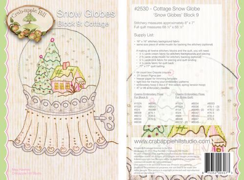 Snow Globes Block 9 - Cottage