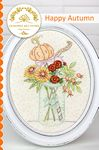 Happy Autumn Embroidery Pattern