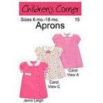 Children's Corner Aprons Carol Jen sz 6mo 18mo