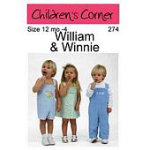 Children's Corner William and Winnie sz 12mo-4