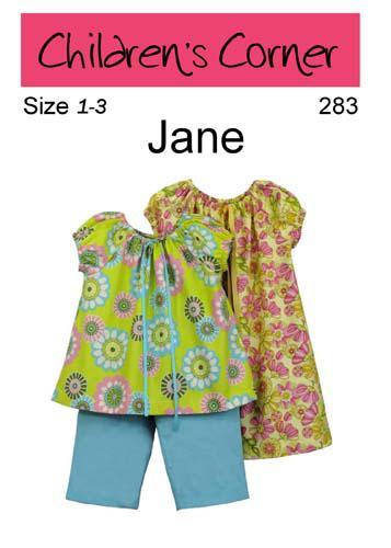 Children's Corner Jane 1-3