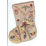 Vintage Ornament #1 Stocking pattern by Chickadee Hollow Designs