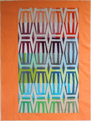 Stripes Quilt Pattern by Carolyn Friedlander