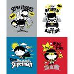 DC Justice League Tiny Superhero Panel Multi