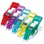Mini Wonder Clips, Assorted Colors, 50 pcs